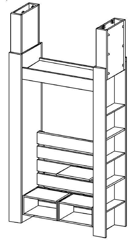 ベッドルーム図