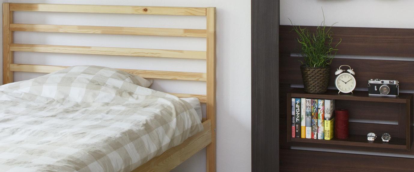 寝室用飾り棚