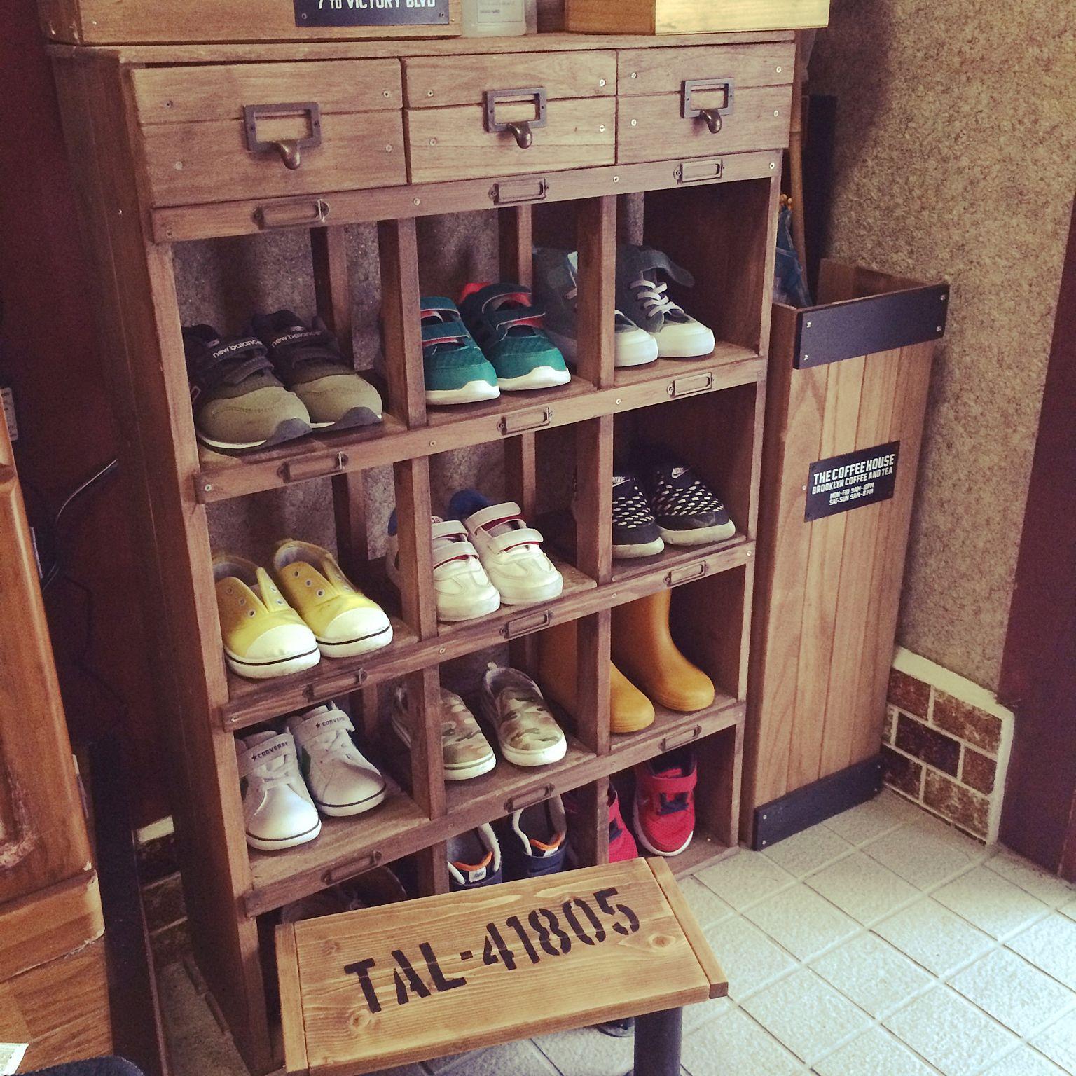 玄関の靴収納アイデア4