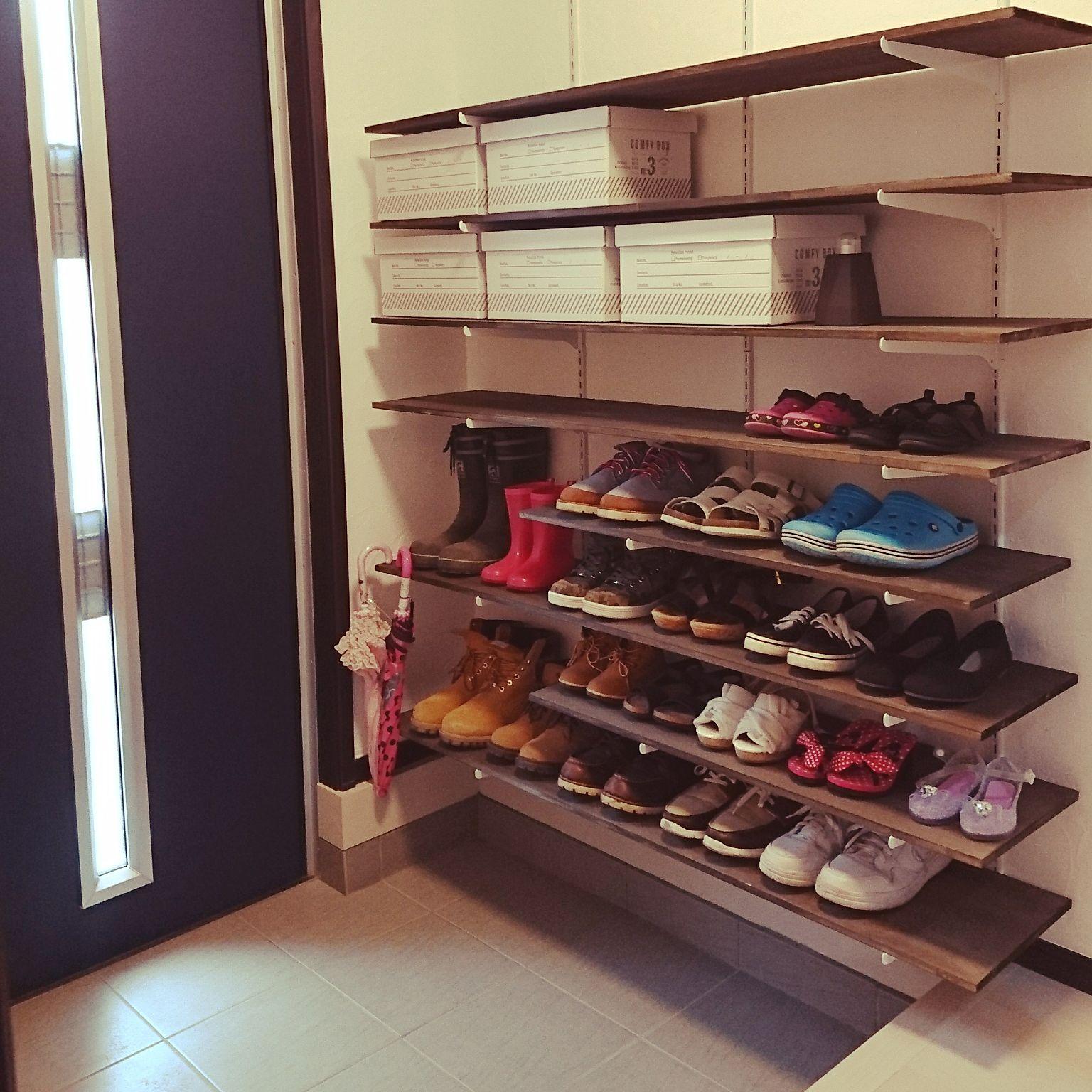 玄関の靴収納アイデア1