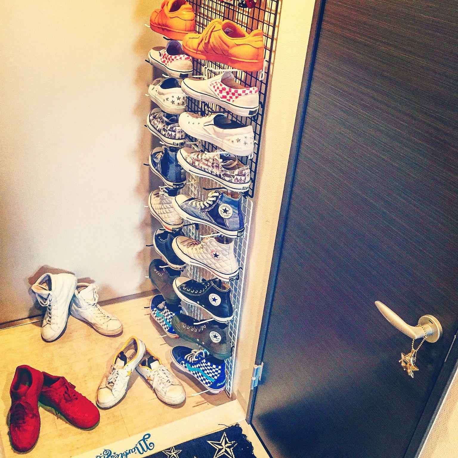 玄関の靴収納アイデア3