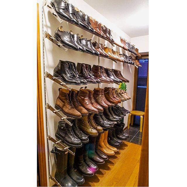 玄関の靴収納アイデア2